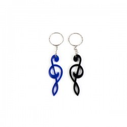 """KEYCHAIN """"MUSICAL NOTE"""" ASSORTMENT"""