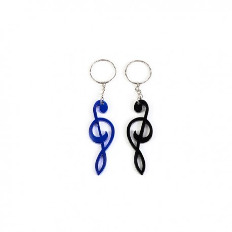 KEYRING MUSICAL NOTE ASSORTMENT