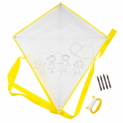 COMET-CHILD FOR GIFT-GIVING AND COLORING IN BAPTISMS AND WEDDINGS - YELLOW