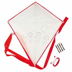 COMET-CHILD FOR GIFT-GIVING AND COLORING IN BAPTISMS AND WEDDINGS – RED