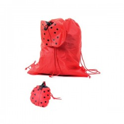 BACKPACK FOLDING ANIMALS RED