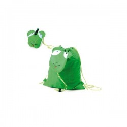 BACKPACK FOLDING ANIMALS GREEN