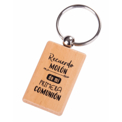 "KEYCHAIN WOODEN ""MEMORY BUSINESS"""