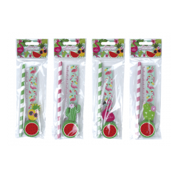 SET 4 PCS PAPELERÍA TROPICAL EXOTIC