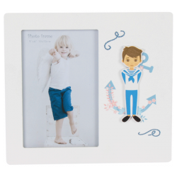 PHOTO HOLDER WOOD COMMUNION CHILD