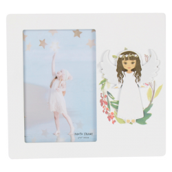 PHOTO HOLDER WOOD COMMUNION GIRL