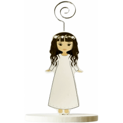 CLIP photo holders WOODEN 1st COMMUNION