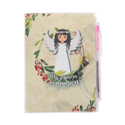 BOOK MY FIRST COMMUNION, PVC+ PEN