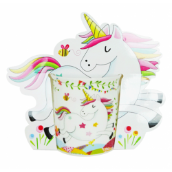 CUP UNICORN PRESENTED IN GIFT BAG