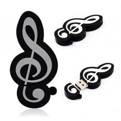 MEMORIA USB NOTA MUSICAL 4 GB