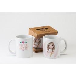 Taza cerámica La mia Prima Comunione en caja regalo