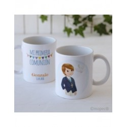 Cup ceramic child's Communion in gift box