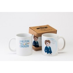 Cup ceramic mia Prima Communion in gift box
