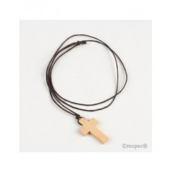Pendant cross wood
