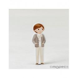 Figura 2D adhesiu nen Comunió fulard, 5,5 cm min.20