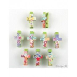 Clamp cross messages 3.5 cm min.20
