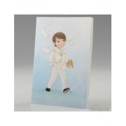 Portafoto Communion child admiral white, min.25