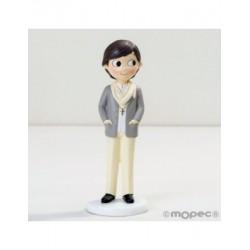 La figura del nen Comunió amb fulard 16,5 cm