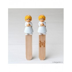 Point book girl Communion blonde 14cm. min.6 Q. SWEET