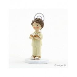 Portafoto niño traje beige Comunión 10,5cm., min.10