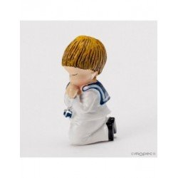 Child Communion kneeling magnet+ring 5cm min20
