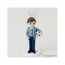 Photo holder child's Communion with a ball, 11cm. min.6