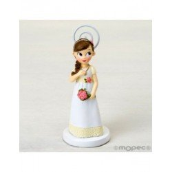 Photo holder girl, Communion, romantic,11cm. min.6