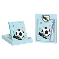GIFT SET JOURNAL + PEN FOOTBALL