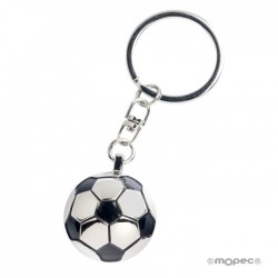 Keychain metal ball football