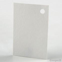 White card 4,5x3cm price of 100u.