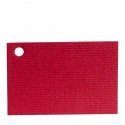 Tarjeta roja Dalí 4,5x3cm precio x100u.