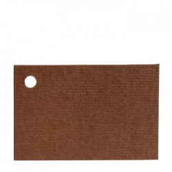 Card brown 4,5x3cm price x100u.
