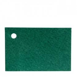 Green card 4,5x3cm price of 100u.