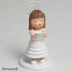 Photo holder girl hair smooth Communion 8,5 cm, min15.SWEET