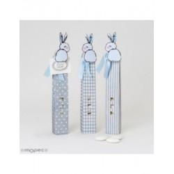 Case box/topo/stripe 5peladillas clip bunny min.3*