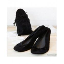Dancer velvet BLACK+bag, L size min.2