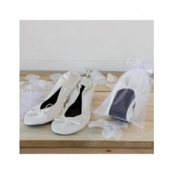 Dancers white imit. skin+bag, size M min.2