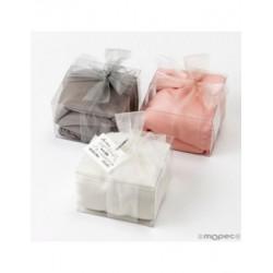 Pashmina piedra, rosa té y marfil 170x55cm.caja adorno min3