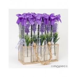Exhibitor 30 cases 6 neapolitan flower lavender*
