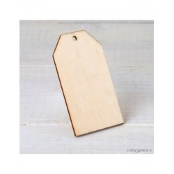 Card of wood with a hole 4,5x8cm. min.4