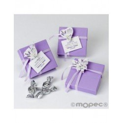 Box 5minifruits clamp wood butterfly,bird,heart, min3*