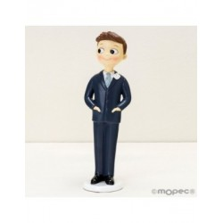 Figure cake groom Pop&Fun, hands in pockets, 21cm.