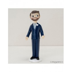 Figure cake groom Pop&Fun with a beard, 21cm.