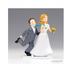 Figure cake wedding -Yes or Yes - by pulling the tie 19cm.