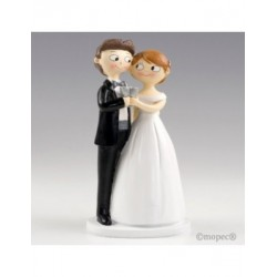 Figure cake bride and groom to toast together Pop & Fun 21cm
