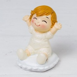 Figure baby Pop &Fun sitting on cushion 8cm.