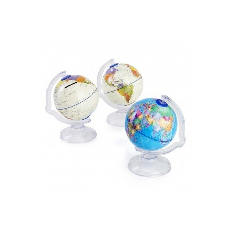 detalle para niños hucha bola del mundo