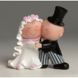 Figure Cake Pit-Pita bride and groom cake, dancing 15.5 cm