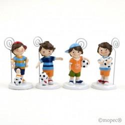 Holder footballer 4modelos 10,5 cm, min.4