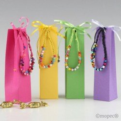 Bracelet multicolor in box with 5 minifruits, stdo.min.4